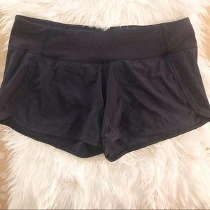 Lululemon Black Speed Shorts